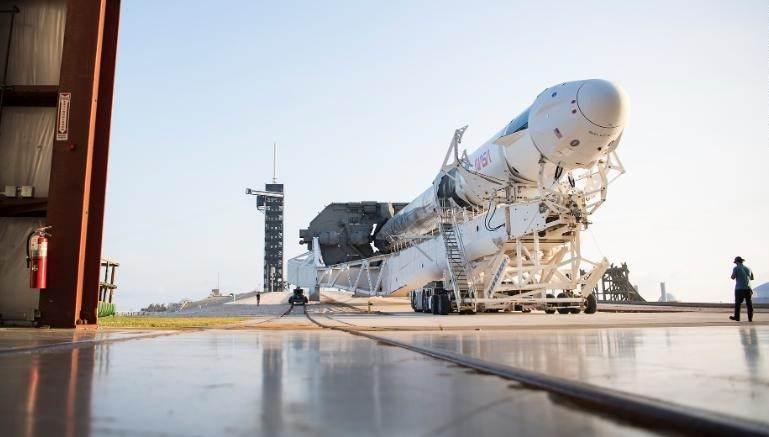 Preparação para o lançamento em Cabo Canaveral