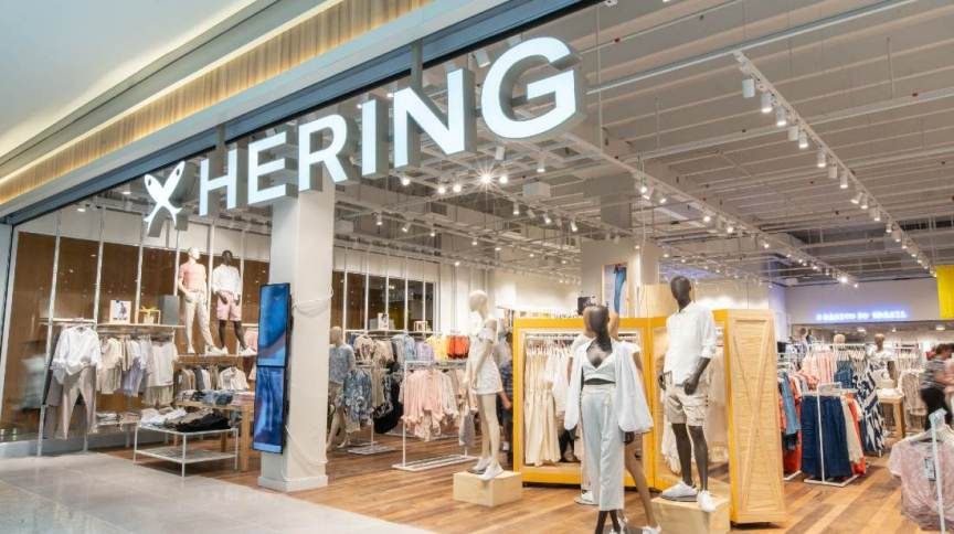 Loja da varejista de moda Hering