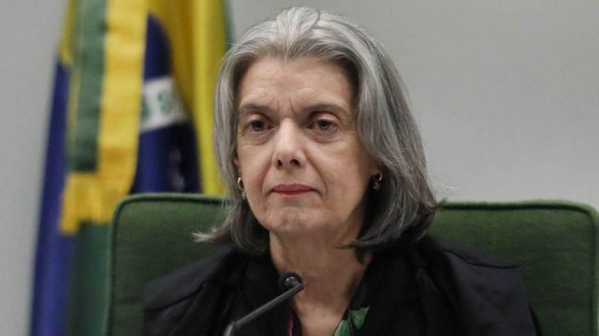 Ministra Cármen Lúcia, do STF