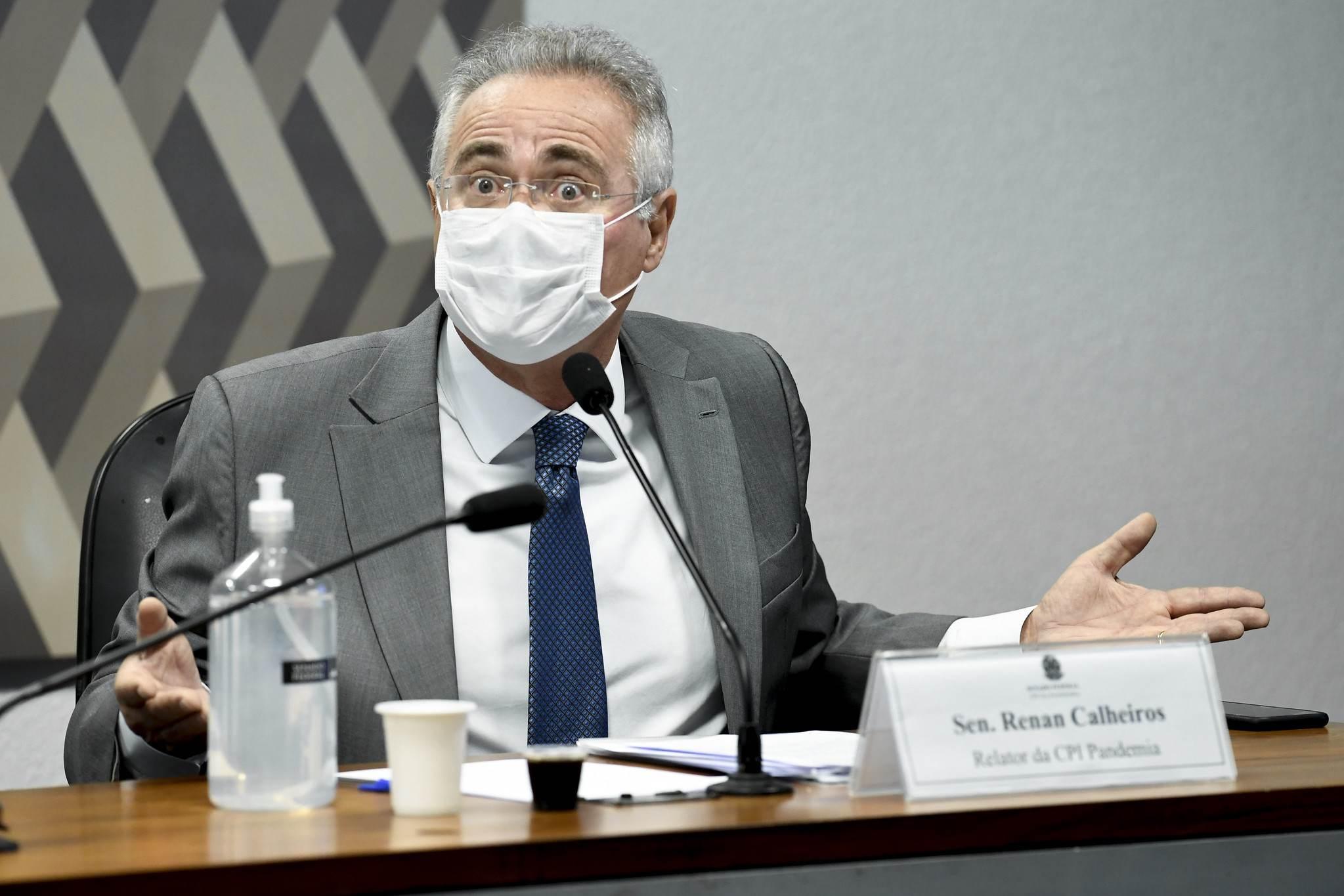 Renan Calheiros, relator da CPI da Pandemia, trocou farpas com governistas