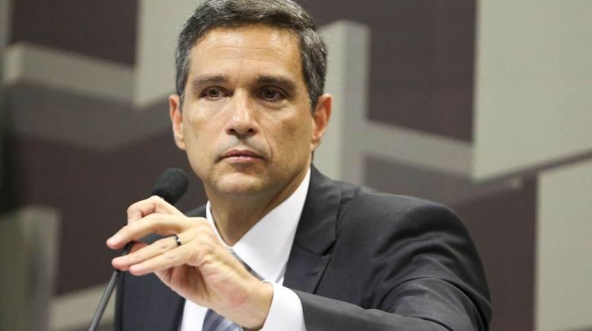 Roberto Campos Neto em sua posse como presidente do Banco Central (28.fev.2019)