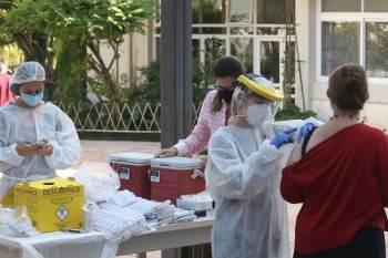 Cidade faz parte de um estudo sobre a eficácia da vacina contra a Covid-19 da AstraZeneca, produzida no Brasil pela Fiocruz