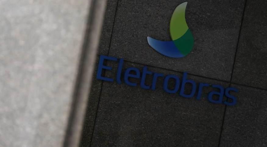 Logotipo da Eletrobras visto em instalações da empresa no Rio de Janeiro