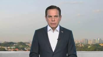 Para Aécio, Doria poderia levar o PSDB ao 'isolamento absoluto'; Doria diz que 'fracasso subiu à cabeça de Aécio Neves'