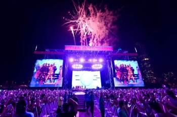 Festival começa hoje (29) e terminará no domingo (1); cerca de 100 mil espectadores são esperados em cada dia de shows