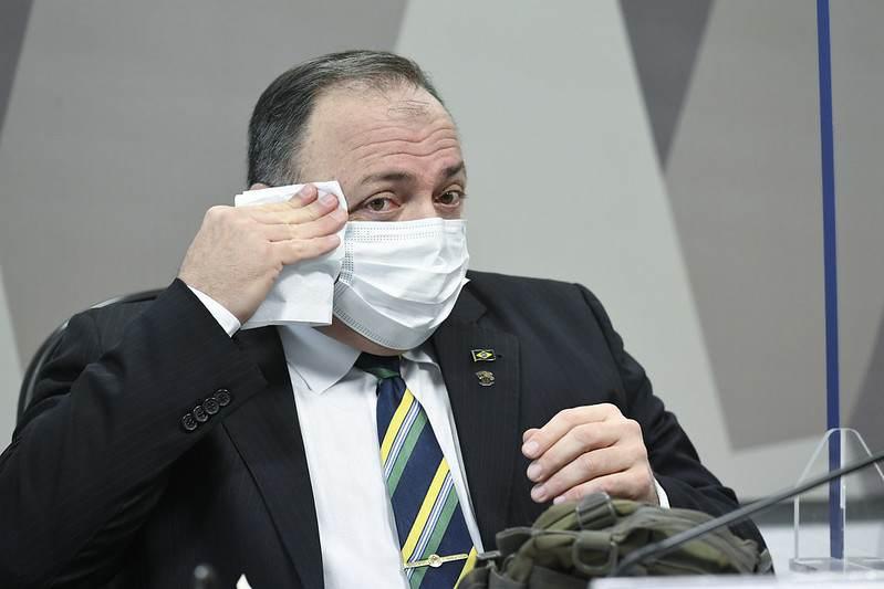Ex-ministro Eduardo Pazuello presta depoimento à CPI da Pandemia