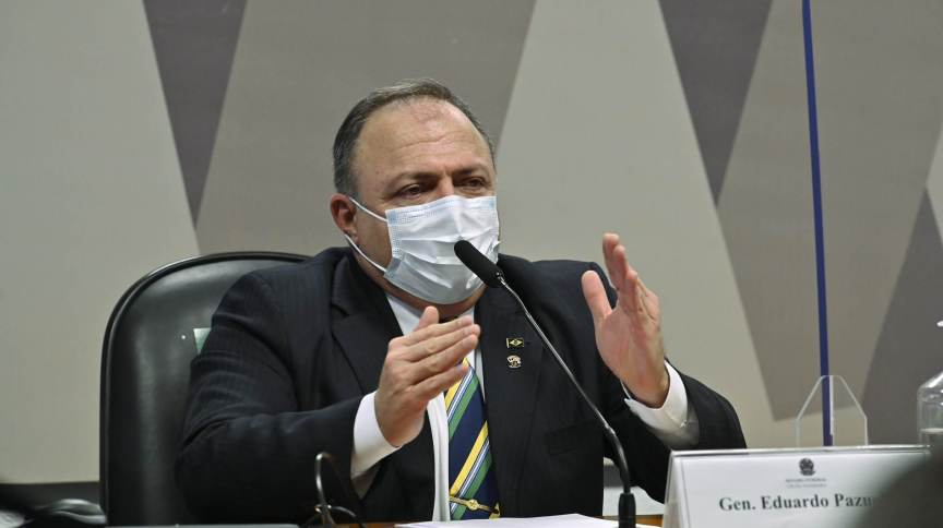CPI da Pandemia retoma depoimento do ex-ministro da Saúde Eduardo Pazuello