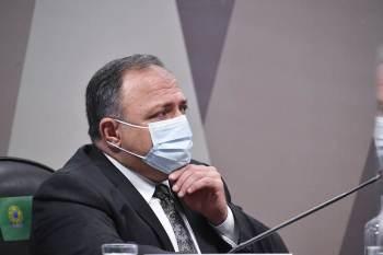 Vídeo mostra o ex-ministro da Saúde em reunião com intermediários, que ofereciam vacina originada na China a valor três vezes maior do que o do Butantan