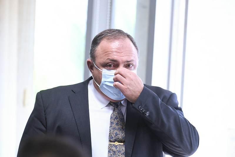 Pazuello durante seu segundo dia de oitivas na CPI da Pandemia