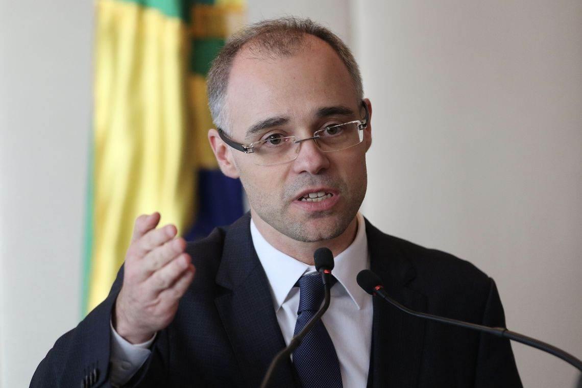 O advogado-geral da União André Mendonça