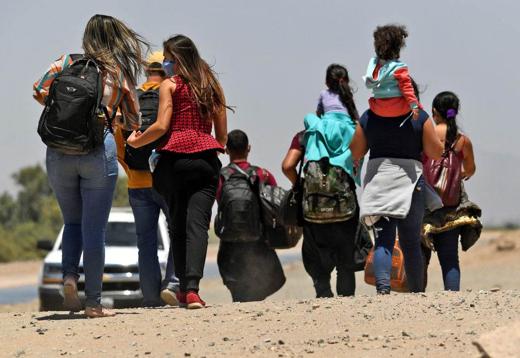 Migração na fronteira dos EUA com México