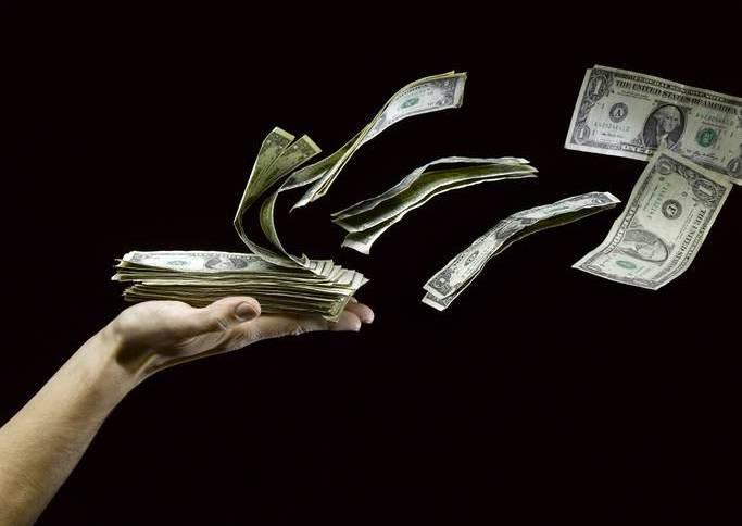 Dinheiro / dólares