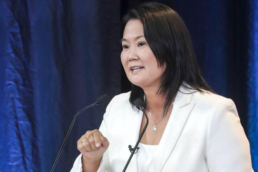 Filha de Alberto Fujimori, Keiko concorreu às eleições presidenciais do Peru em