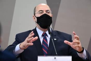 Senador protocolou pedido de esclarecimento na justiça do Rio de Janeiro após depoimento de Witzel na CPI da Pandemia