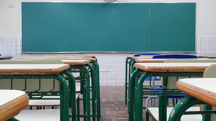 Sala de aula em escola