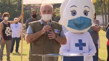 Marcelo Queiroga diz que pasta trabalha para acelerar imunização de modo a evitar que mutação de espalhe no país