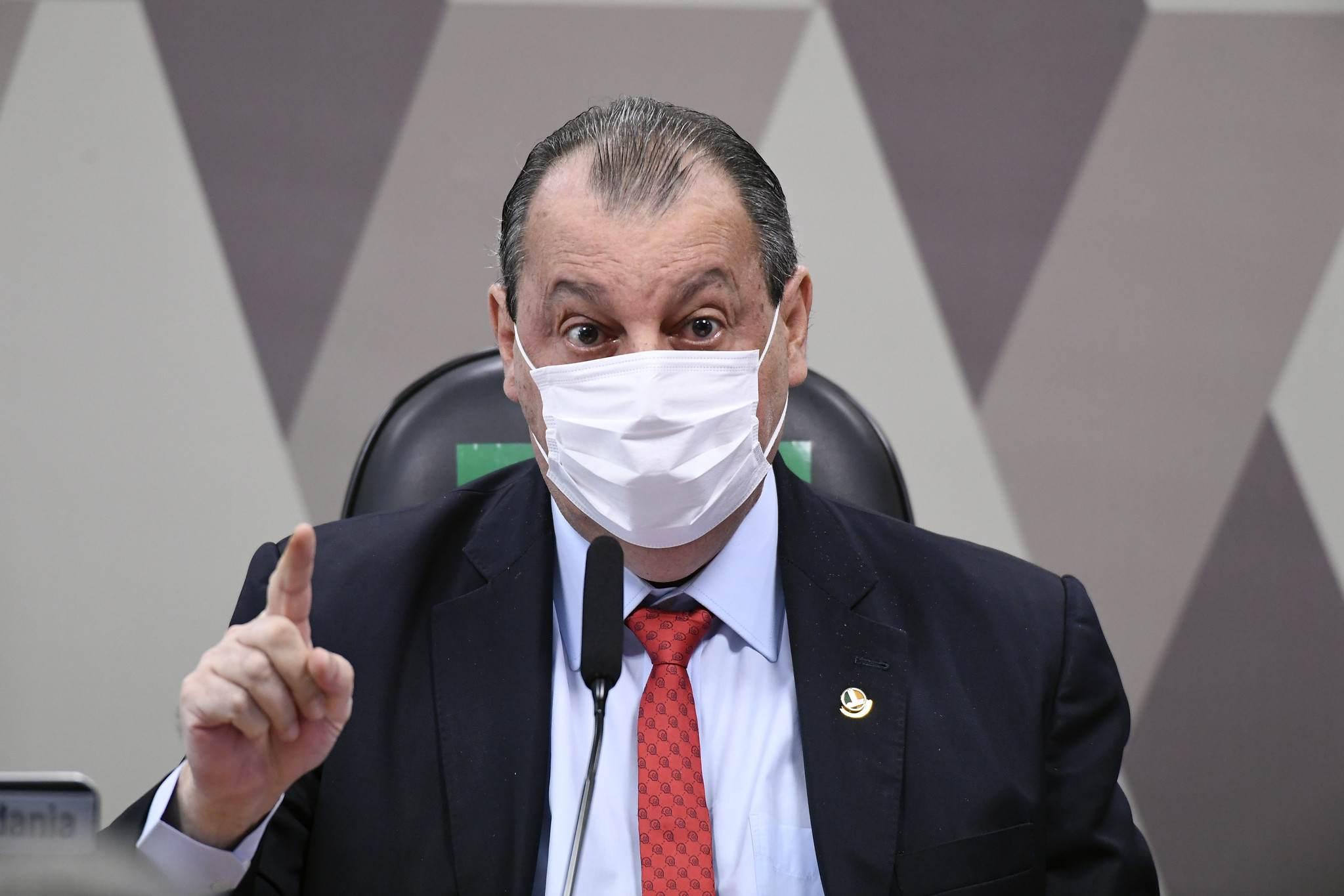 Presidente da CPI, Omar Aziz