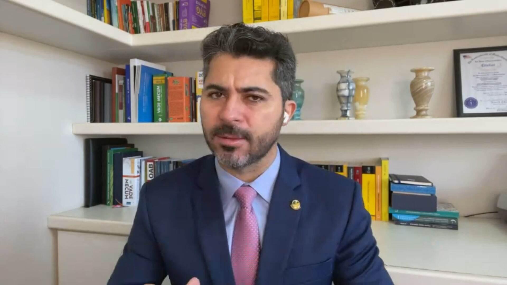 Senador Marcos Rogério (DEM-RO), titular da CPI da Pandemia