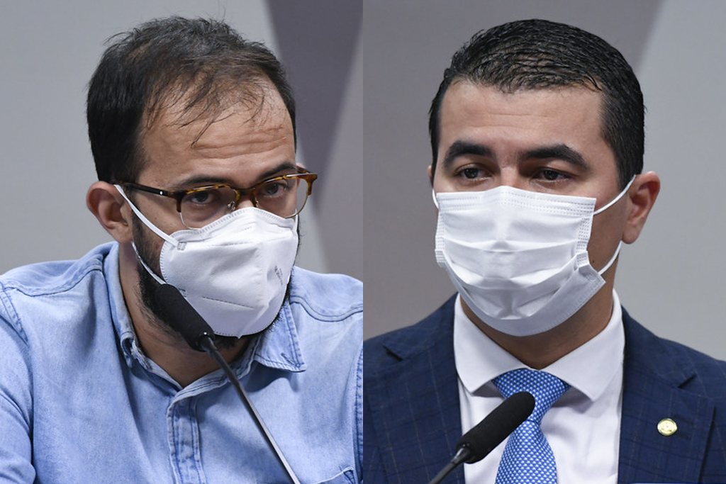 Irmãos Miranda depõem à CPI da Pandemia