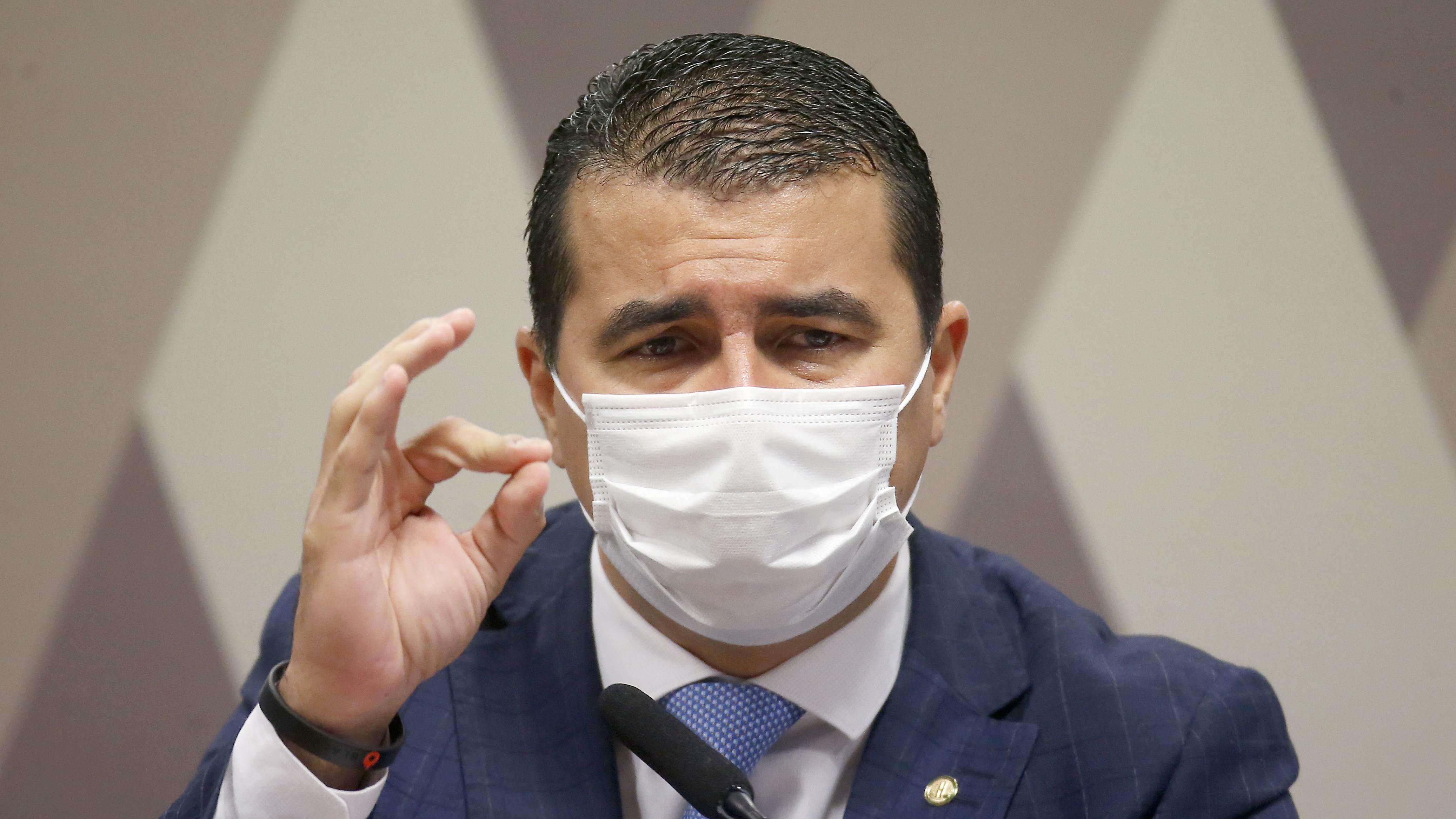 O deputado federal Luís Miranda (DEM- DF)
