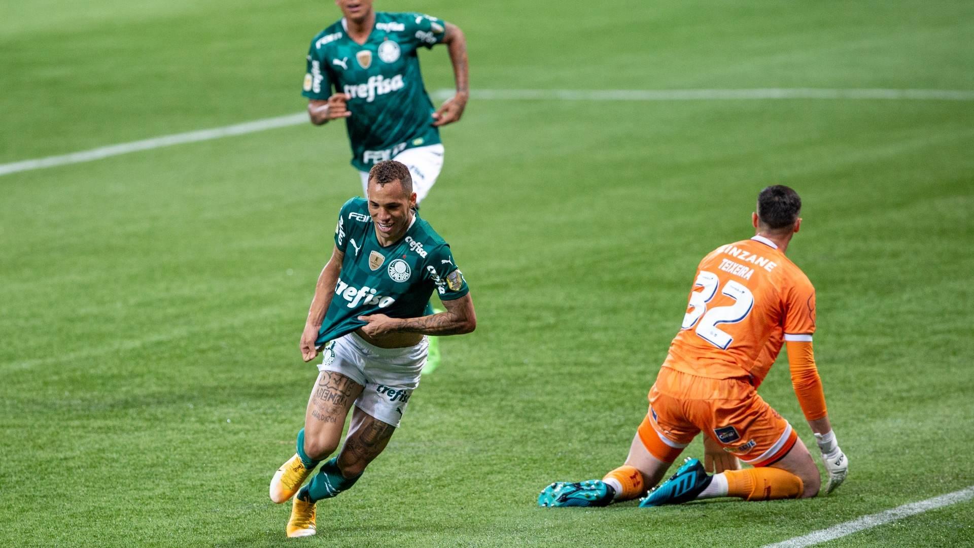 Breno Lopes fez no fim da partida o gol da vitória alviverde