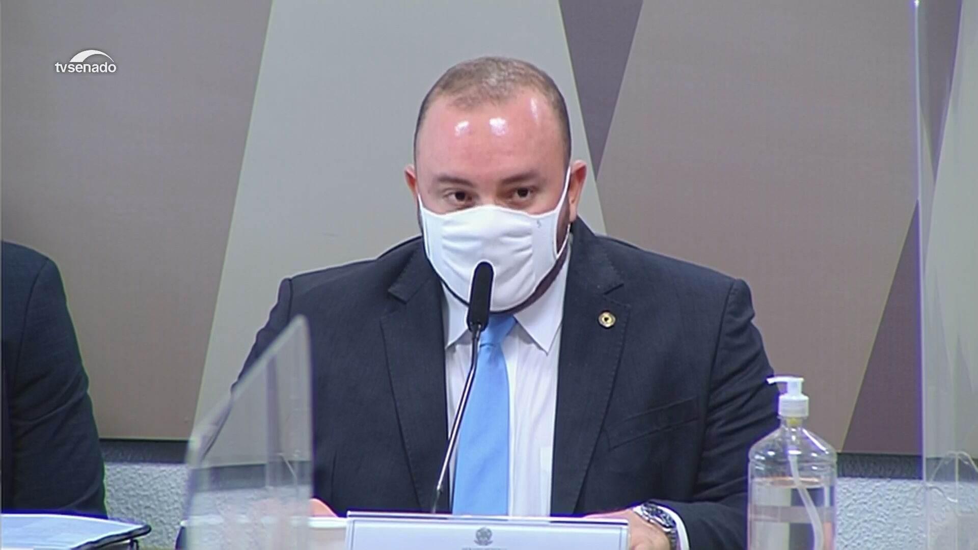 Deputado estadual do Amazonas Fausto Vieira dos Santos Junior (MDB)