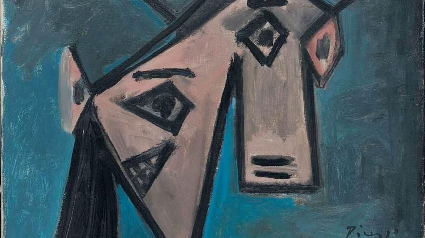 """""""Cabeça de Mulher"""", pintura de Picasso recuperada pela polícia grega"""