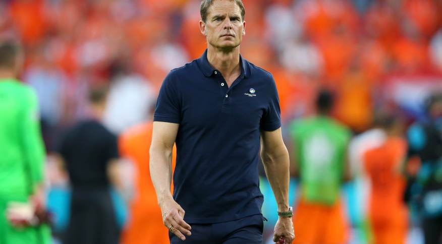 Técnico da Holanda após derrota para República Tcheca pela Eurocopa