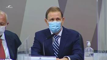 Empresário compareceu à CPI da Pandemia, mas não respondeu perguntas dos senadores