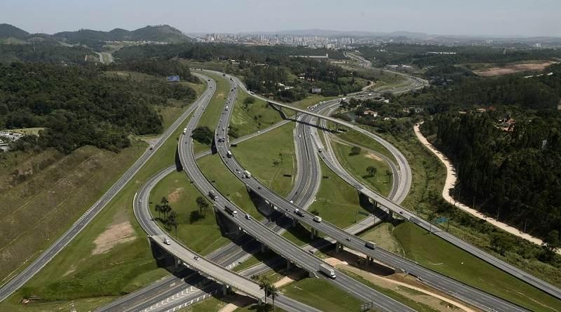 Trecho das rodovias Anhaguera-Bandeirantes