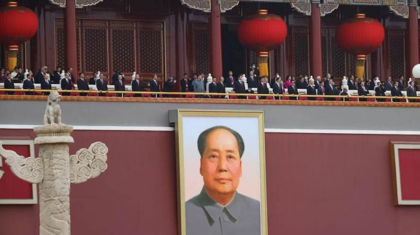 O líder comunista e presidente chinês Xi Jinping participa da celebração do 100º aniversário de fundação do Partido Comunista Chinês, em 1º de julho de 2021, em Pequim, China