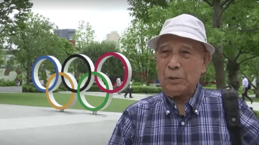 Kohei Jinno foi despejado duas vezes de sua casa para construção e reforma de um estádio olímpico