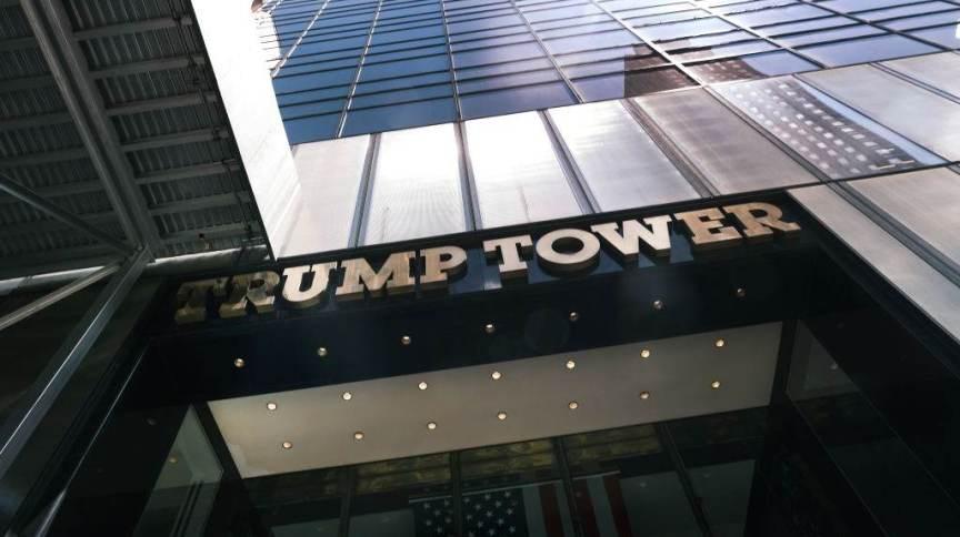 Trump Tower, sede das empresas de Donald Trump, em Nova York