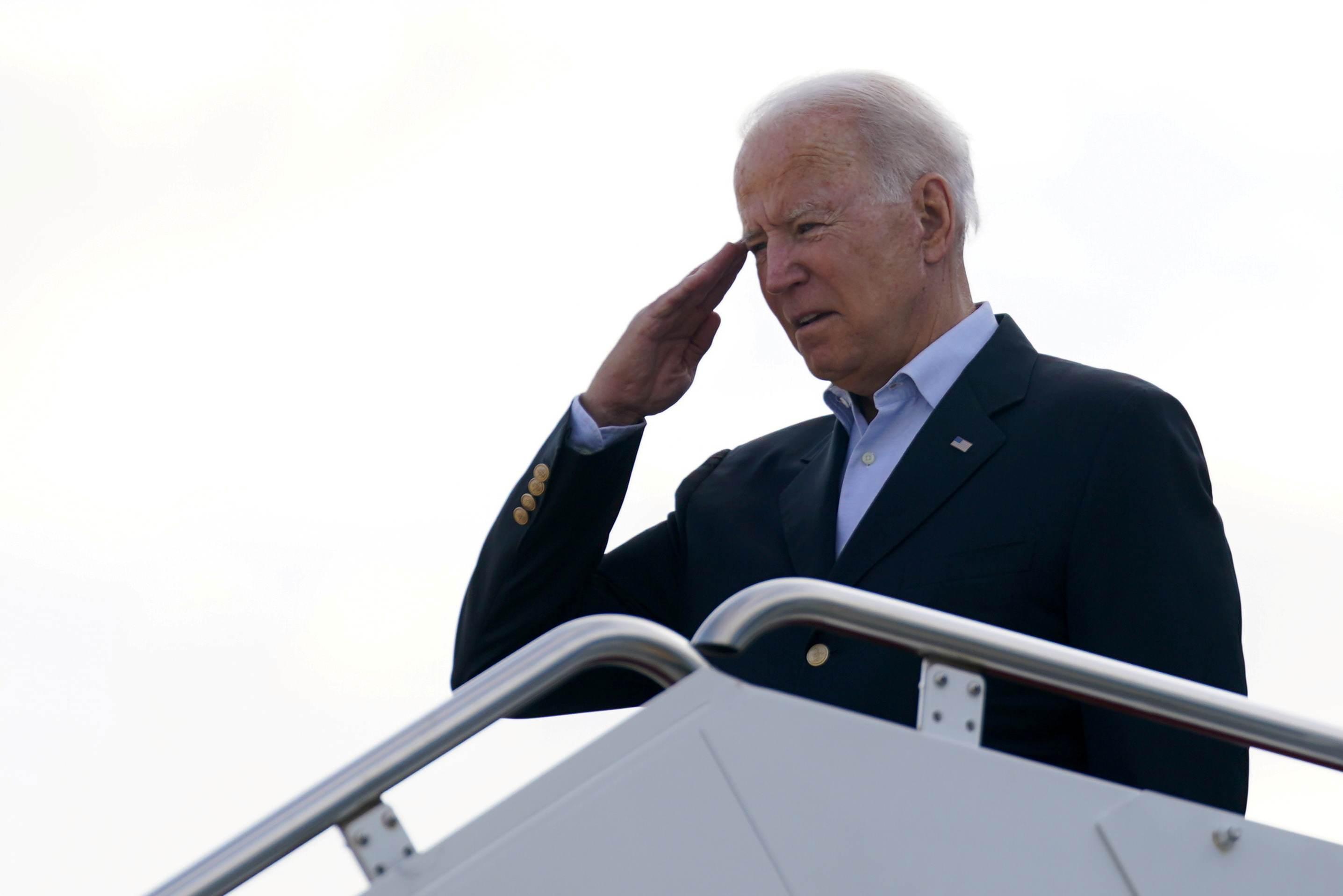 Joe Biden rumo à Flórida