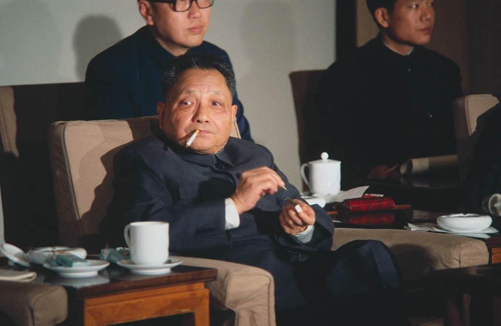 O ex-líder chinês Deng Xiaoping