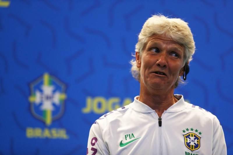 Técnica da seleção brasileira de futebol feminino Pia Sundhage