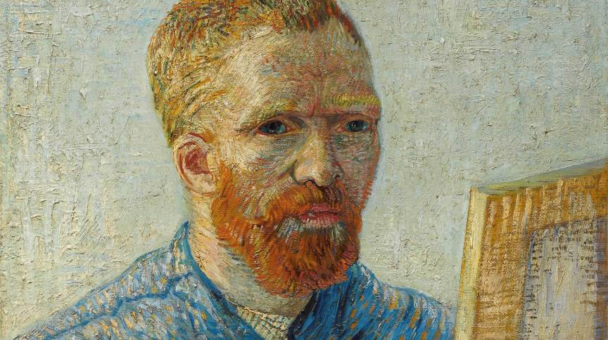 Autorretrato de Van Gogh, de 1888