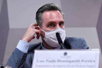 Presidente da CPI da Pandemia, Omar Aziz (PSD-AM) diz que não vai atender a pedido de prisão para proteger família do depoente