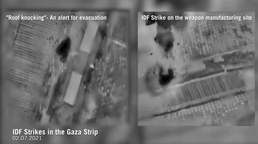 Israel bombardeou suposta fábrica de armas do Hamas após lançamento de balões incendiários