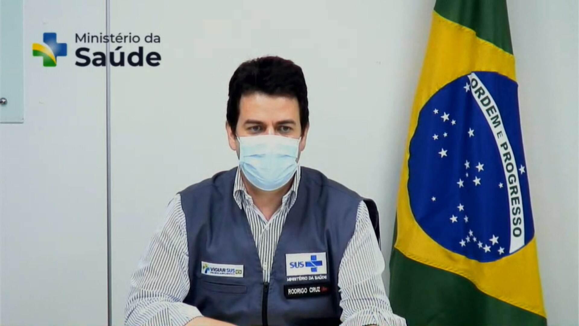 Rodrigo Otávio Moreira da Cruz, Secretário Executivo do Ministério da Saúde