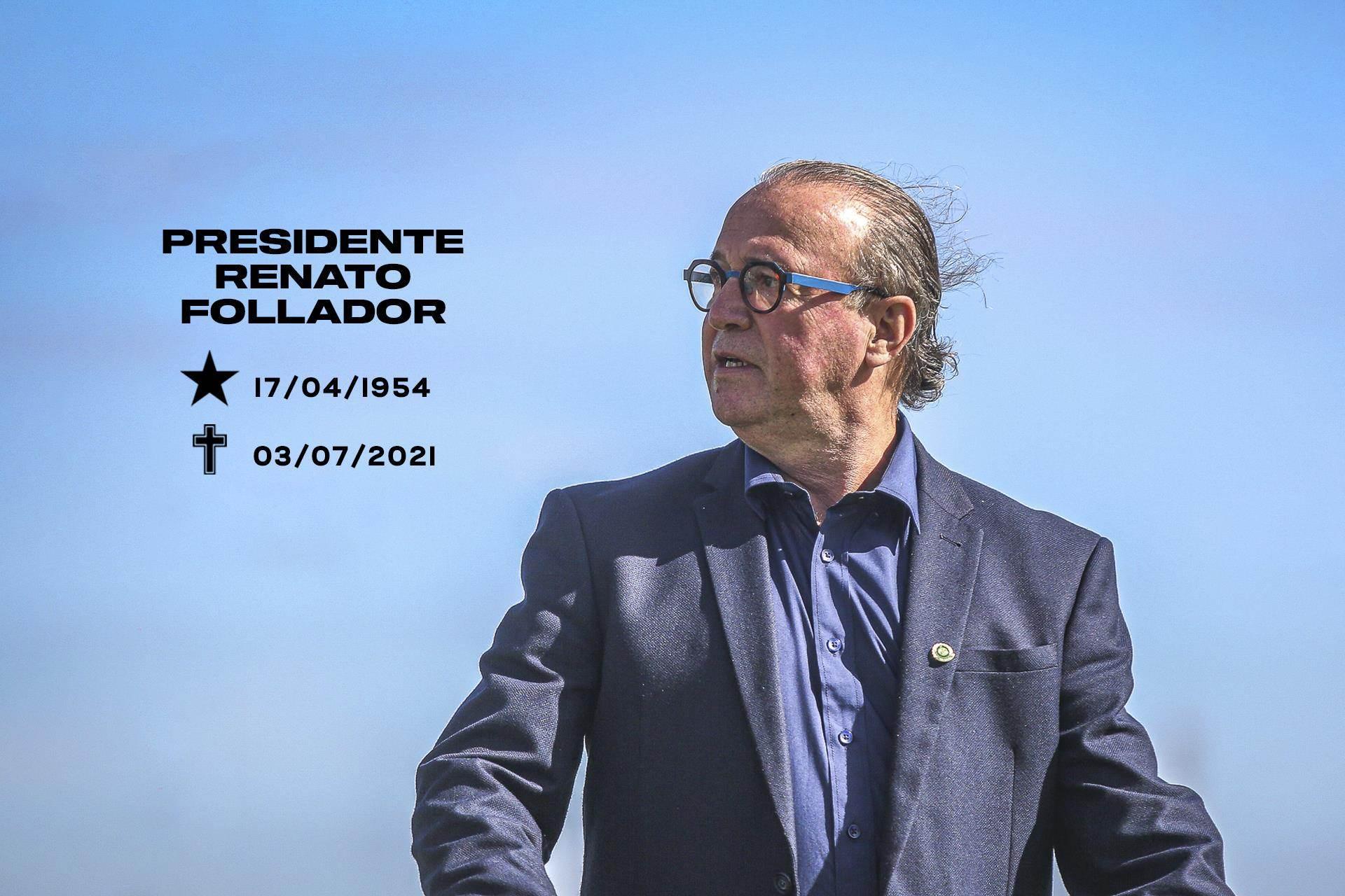 Coritiba se despede de Renato Follador