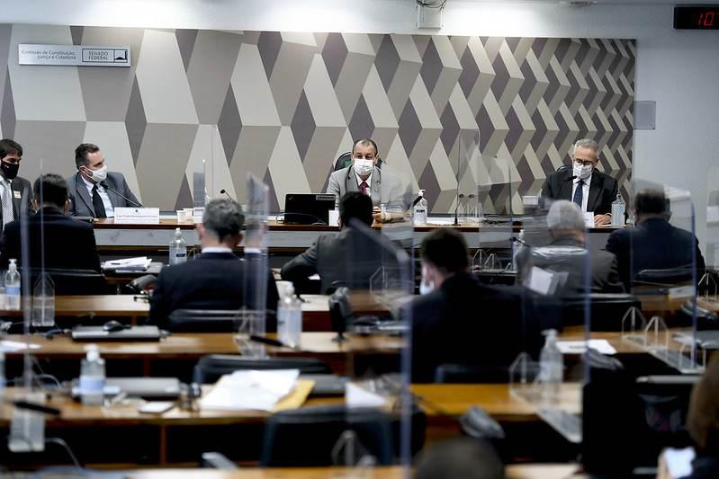 Sessão da CPI da Pandemia
