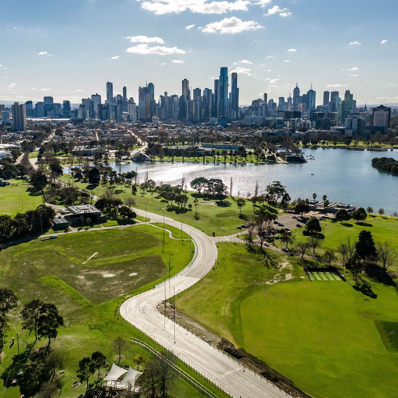 Circuito Albert Park, em Melbourne, Austrália/ Divulgação