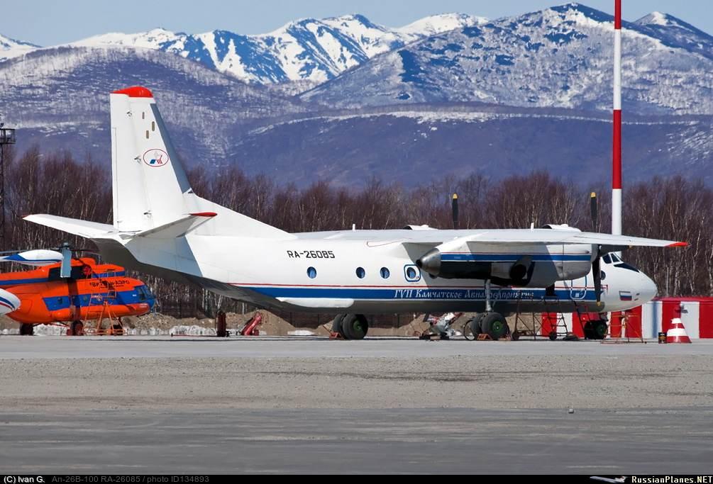 Modelo de avião AN-26, que caiu no extremo-leste da Rússia na terça-feira (06)