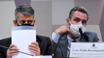 """Nas mensagens, Luiz Paulo Dominghetti também indica preocupação com """"bloqueio"""" de Roberto Dias"""