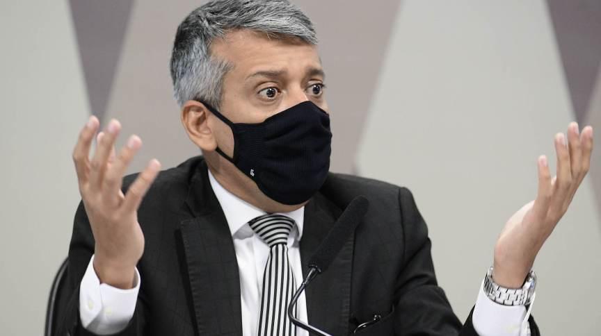 Roberto Dias foi detido após ordem do senador Omar Aziz