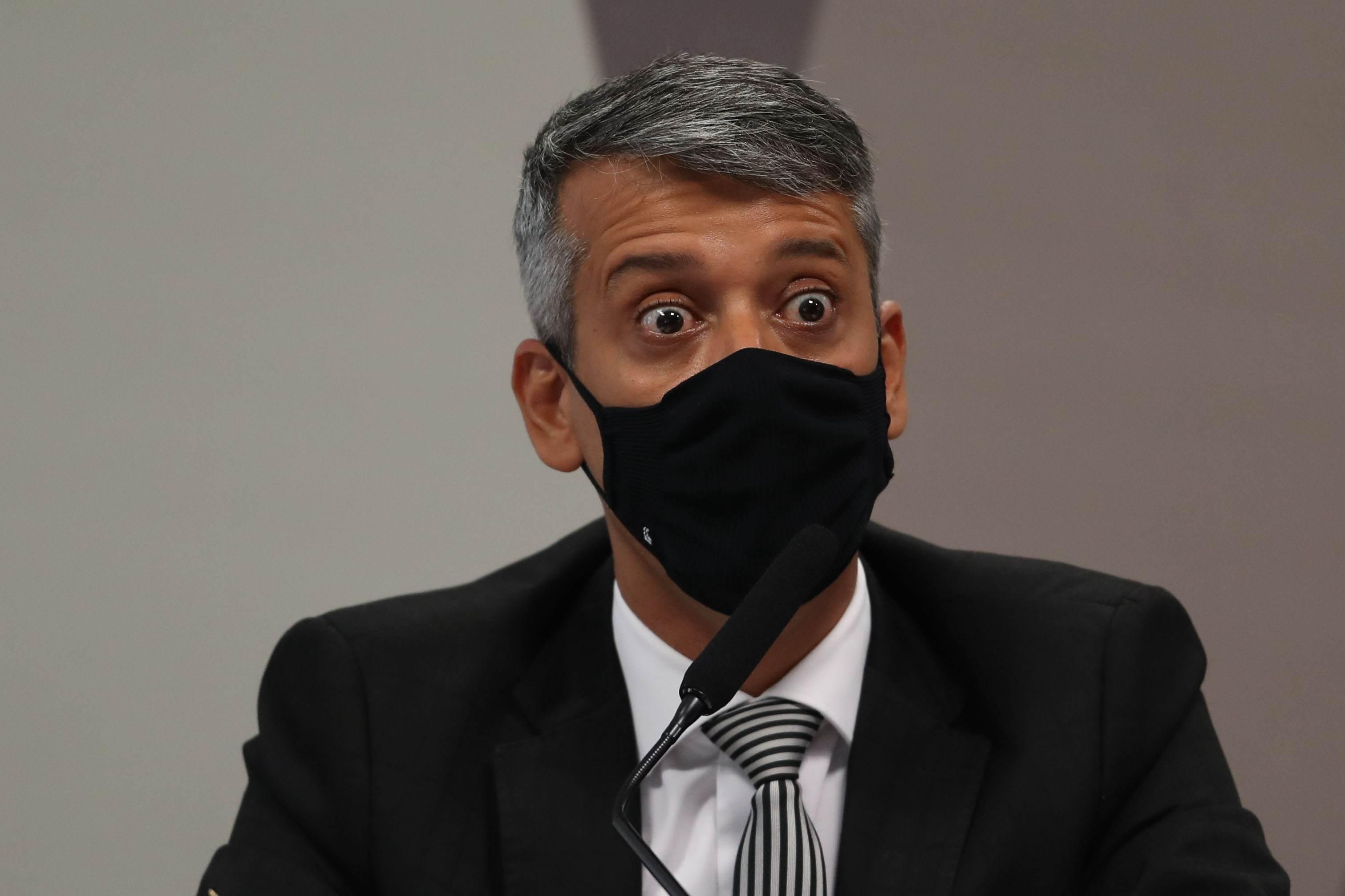 Roberto Dias na CPI da Pandemia