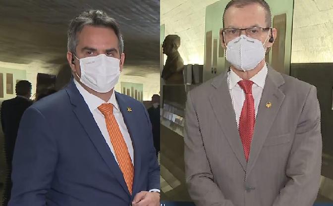Senadores Ciro Nogueira (PP-PI) e Fabiano Contarato (Rede-ES)