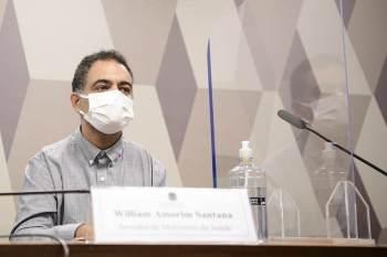 William Amorim Santana foi questionado sobre as negociações do governo federal para a aquisição das vacinas indianas