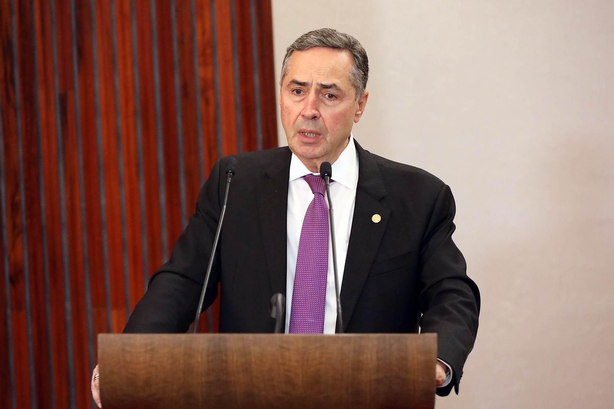 Ministro Luis Roberto Barroso, do TSE